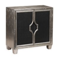 Pulaski Chloe 2-Door Chest in Silver Glam