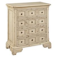 Pulaski Taylor Apothecary 4-Drawer Accent Chest in Tan