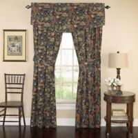 Waverly® Rhapsody 84-Inch Window Curtain Panel Pair in Jewel