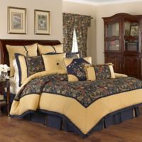 Waverly® Rhapsody Reversible Queen Comforter Set in Jewel