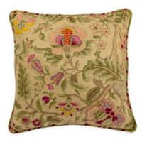 Waverly® Imperial Dress 18-Inch Square Throw Pillow in Antique