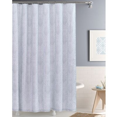 Whitney Silver 72 Inch X 72 Inch Shower Curtain