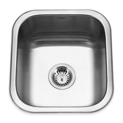 Houzer 16.25 Inch Bar/Prep Stainless Steel Undermount Kitchen Sink