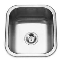 Houzer 16.25-Inch Bar/Prep Stainless Steel Undermount Kitchen Sink