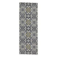 Feizy Farrell Madeline 2-Foot 10-Inch x 7-Foot 10-Inch Runner in Grey/Yellow