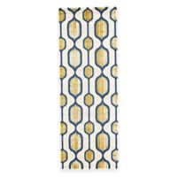 Feizy Caslon Mod Link 2-Foot 10-Inch x 7-Foot 10-Inch Runner in Yellow