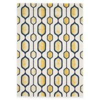 Feizy Caslon Mod Link 5-Foot x 8-Foot Area Rug in Yellow