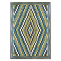 Feizy Caslon Diamonds 2-Foot 2-Inch x 4-Foot Multicolor Accent Rug