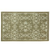 Bacova Woven Terra Renaissance 2-Foot 4-Inch x 3-Foot 10-Inch Accent Rug in Brown/Ivory