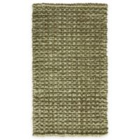 Bacova Tiger Eye Woven 2-Foot 4-Inch x 3-Foot 10-Inch Indoor/Outdoor Accent Rug in Natural