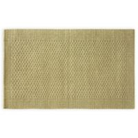 Bacova Tiger Eye Loop Border 2-Foot 4-Inch x 3-Foot 10-Inch Indoor/Outdoor Accent Rug in Natural