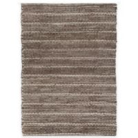 Natural Chenille Stripes 2-Foot x 4-Foot 6-Inch Accent Rug in Grey