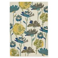Feizy Caslon Floral Damask 2-Foot 2-Inch x 4-Foot Multicolor Accent Rug