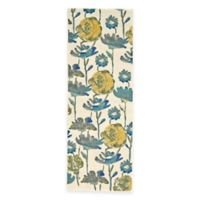 Feizy Caslon Floral Damask 2-Foot 10-Inch x 7-Foot 10-Inch Multicolor Runner