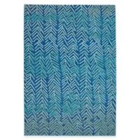 Feizy Caslon Arrows 2-Foot 2-Inch x 4-Foot Accent Rug in Blue