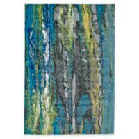 Feizy Caslon Granite 5-Foot x 8-Foot Multicolor Area Rug