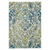 Feizy Caslon Center Medallion 2-Foot 2-Inch x 4-Foot Multicolor Accent Rug