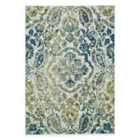 Feizy Caslon Center Medallion 5-Foot x 8-Foot Multicolor Area Rug