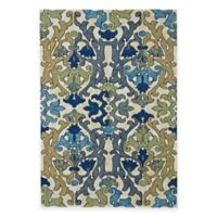 Feizy Caslon Damask 2-Foot 2-Inch x 4-Foot Multicolor Rug