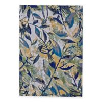 Feizy Caslon Leaves 1-Foot 10-Inch x 2-Foot 11-Inch Multicolor Accent Rug