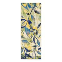 Feizy Caslon Leaves 2-Foot 10-Inch x 7-Foot 10-Inch Multicolor Runner
