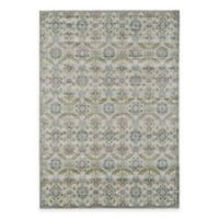 Feizy Landri Floral Medallion 2-Foot 10-Inch x 7-Foot 10-Inch Runner in Taupe