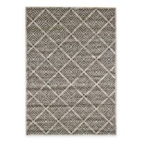 Feizy Landri Diamonds 5-Foot x 8-Foot Area Rug in Taupe/Grey