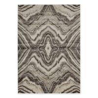 Feizy Landri Mirror 5-Foot x 8-Foot Area Rug in Taupe/Grey