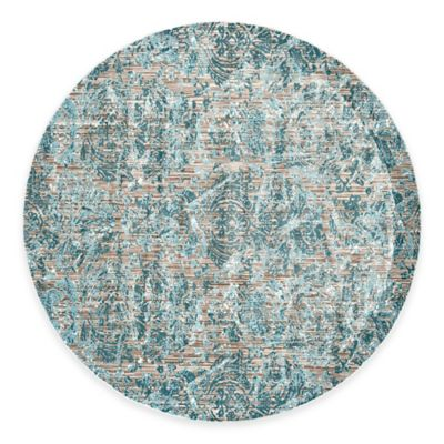 buy aqua round rug from bed bath  beyond, aqua blue round rug, aqua round area rugs, aqua round rug