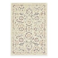 Feizy Settat Traditional 2-Foot 2-Inch x 4-Foot Accent Rug in Grey/Cream