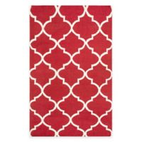 Artistic Weavers York Mallory 4-Foot x 6-Foot Area Rug in Red