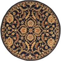 Artistic Weavers Middleton Ava 8-Foot Round Area Rug in Navy