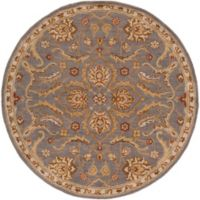 Artistic Weavers Middleton Ava 8-Foot Round Area Rug in Grey