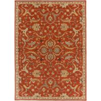 Artistic Weavers Middleton Ava 7-Foot 6-Inch x 9-Foot 6-Inch Area Rug in Rust