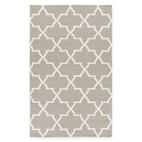 Feizy York Reagan 2-Foot x 3-Foot Accent Rug in Grey/White