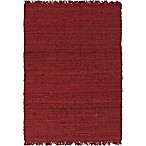 Surya Tropica Harper 2-Foot x 3-Foot Accent Rug in Red