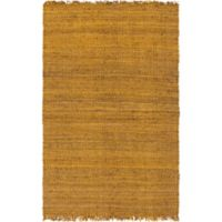 Feizy Tropica Harper 3-Foot x 5-Foot Area Rug in Gold