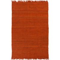 Feizy Tropica Harper 3-Foot x 5-Foot Area Rug in Rust