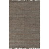 Feizy Tropica Harper 3-Foot x 5-Foot Area Rug in Grey