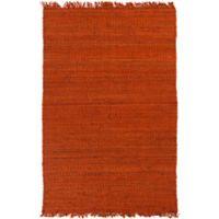 Feizy Tropica Harper 4-Foot x 6-Foot Area Rug in Rust