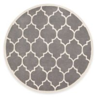 Artistic Weavers Transit Piper 3-Foot 6-Inch Round Area Rug in Grey