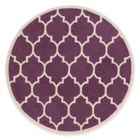 Artistic Weavers Transit Piper 6-Foot Round Area Rug in Purple