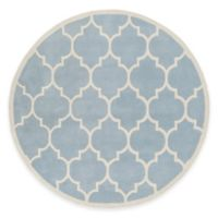 Artistic Weavers Transit Piper 6-Foot Round Area Rug in Light Blue