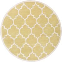 Artistic Weavers Transit Piper 8-Foot Round Area Rug in Yellow