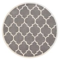Artistic Weavers Transit Piper 8-Foot Round Area Rug in Grey