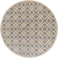 Artistic Weavers Transit Madison 3-Foot 6-Inch Round Area Rug in Light Blue