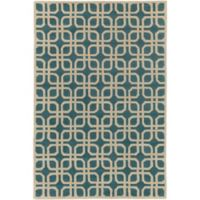 Artistic Weavers Transit Madison 4-Foot x 6-Foot Area Rug in Teal