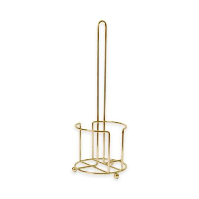 Buy moen vale toilet paper holder from bed bath beyond - Gold toilet paper holder stand ...