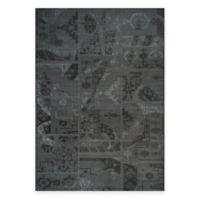 Safavieh Palazzo Global Boxes 8-Foot x 11-Foot Area Rug in Black/Grey