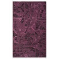 Safavieh Palazzo Global Boxes 8-Foot x 11-Foot Area Rug in Black/Purple
